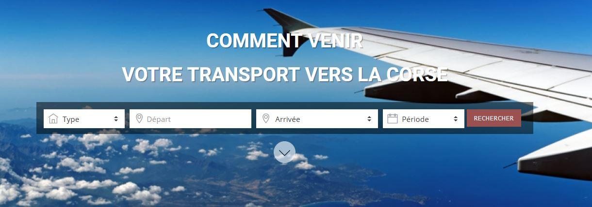 Corsica - Comment venir ?