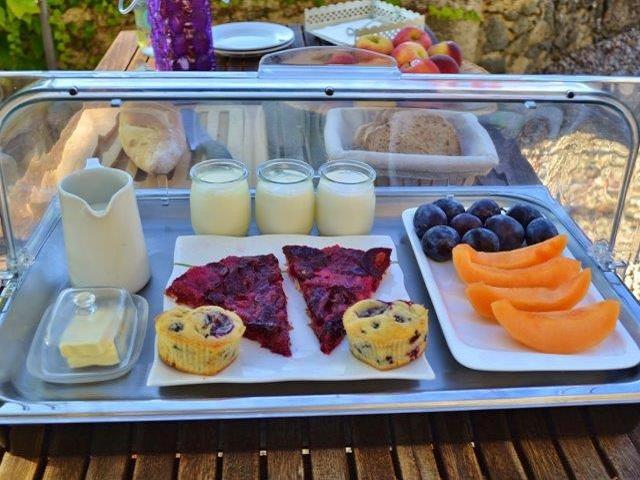Smaakvol zomertijd ontbijt