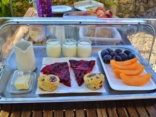 Flavorful summer breakfast