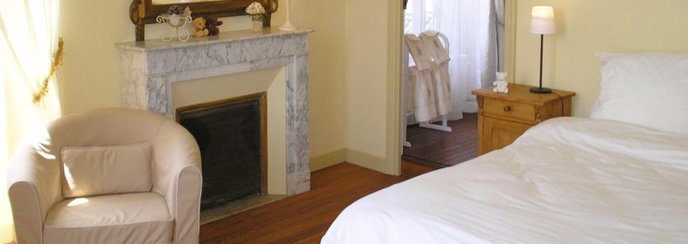 Chambres spacieuses, très propres et décorées avec goût